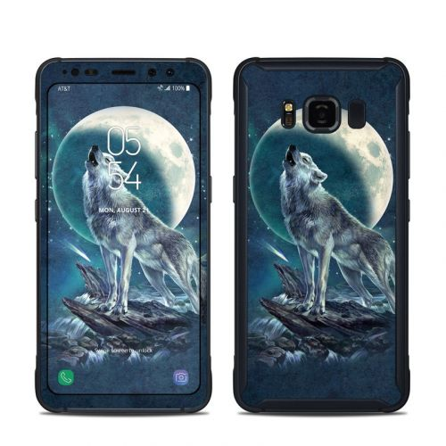 Howling Moon Soloist Samsung Galaxy S8 Active Skin