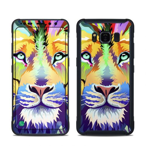 King of Technicolor Samsung Galaxy S8 Active Skin