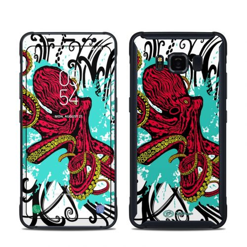 Octopus Samsung Galaxy S8 Active Skin