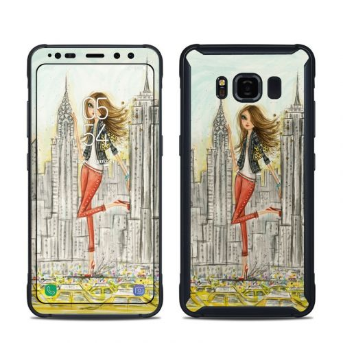The Sights New York Samsung Galaxy S8 Active Skin
