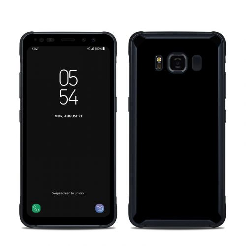 Solid State Black Samsung Galaxy S8 Active Skin