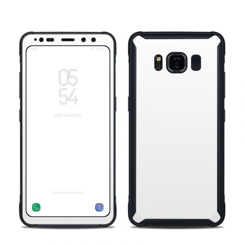 Solid State White Samsung Galaxy S8 Active Skin