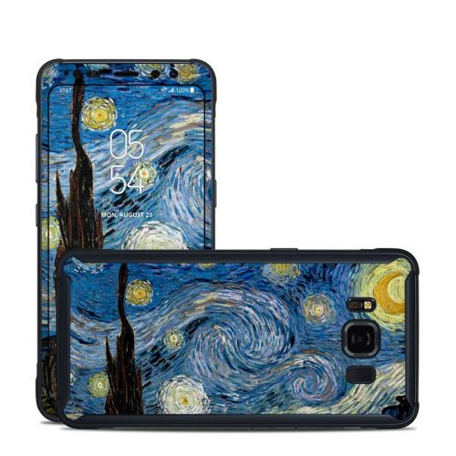 Starry Night Samsung Galaxy S8 Active Skin