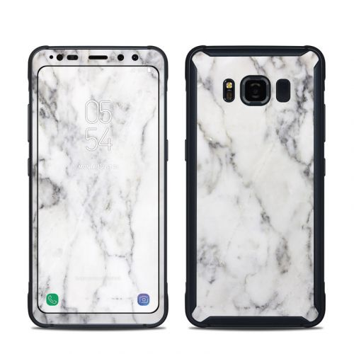 White Marble Samsung Galaxy S8 Active Skin