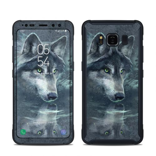 Wolf Reflection Samsung Galaxy S8 Active Skin