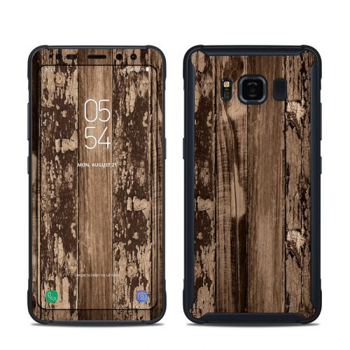 Weathered Wood Samsung Galaxy S8 Active Skin