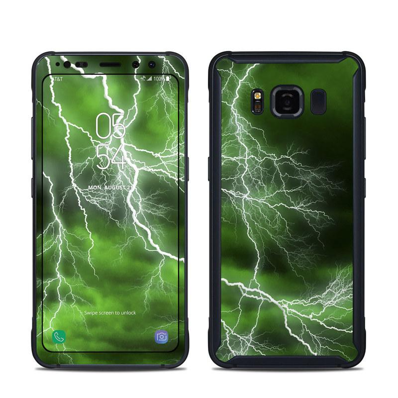 Apocalypse Green Samsung Galaxy S8 Active Skin