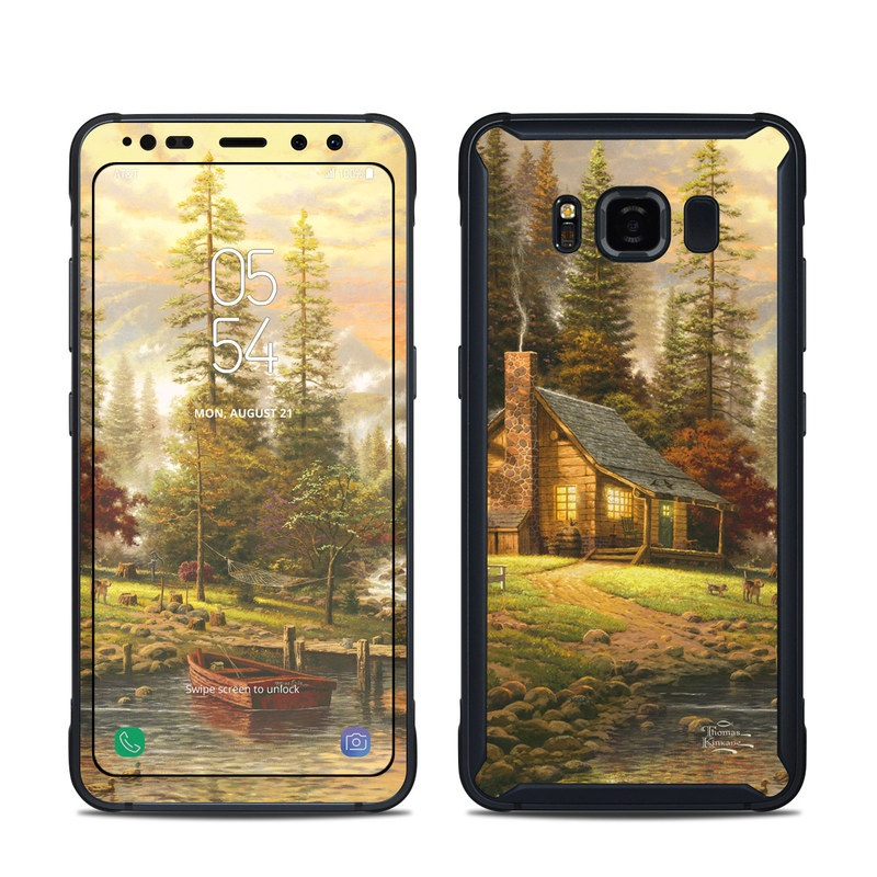 A Peaceful Retreat Samsung Galaxy S8 Active Skin
