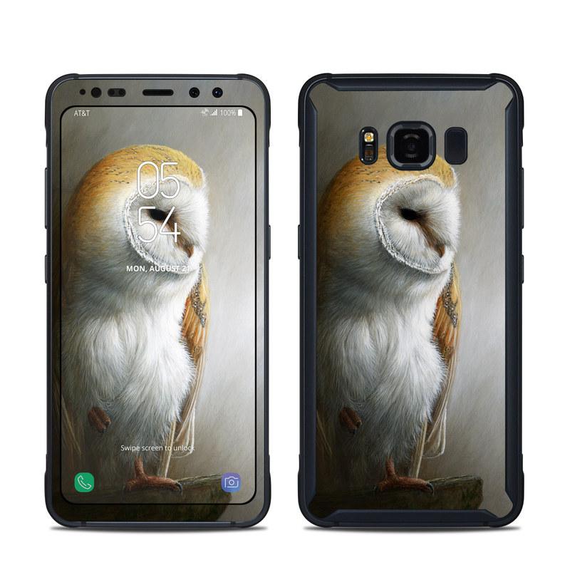 Barn Owl Samsung Galaxy S8 Active Skin