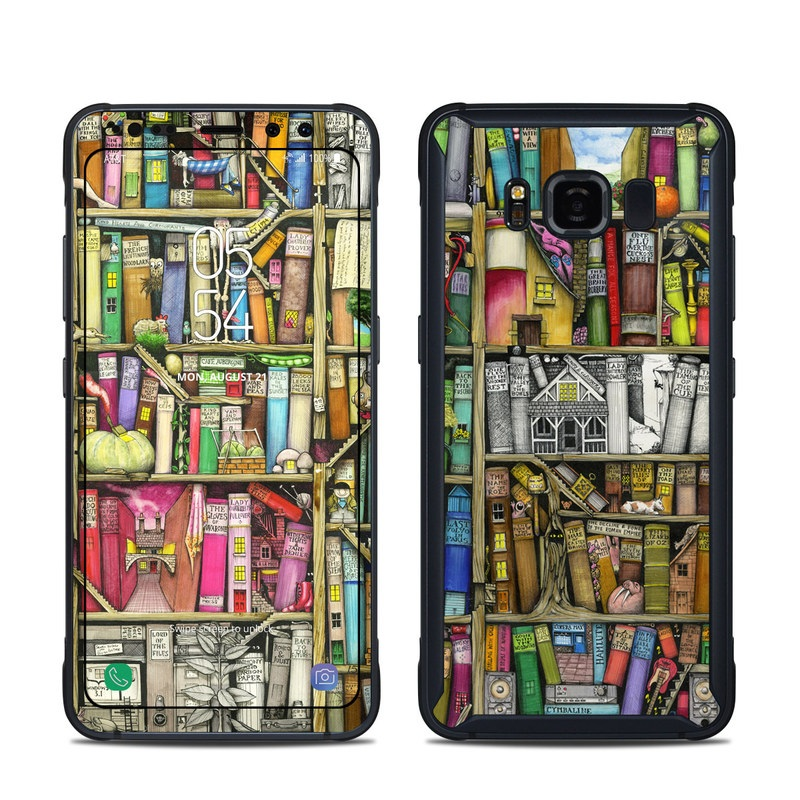 Bookshelf Samsung Galaxy S8 Active Skin