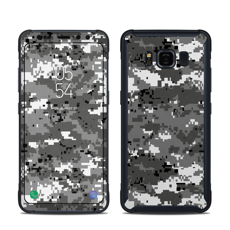 Digital Urban Camo Samsung Galaxy S8 Active Skin