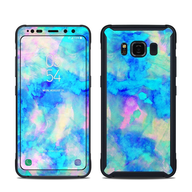 Electrify Ice Blue Samsung Galaxy S8 Active Skin