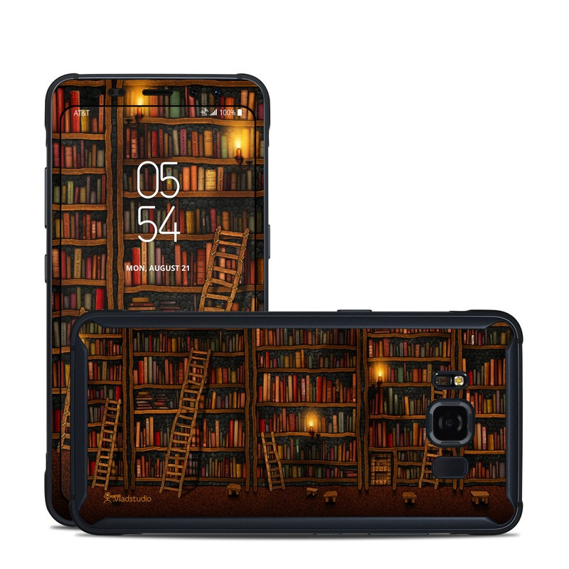 Library Samsung Galaxy S8 Active Skin