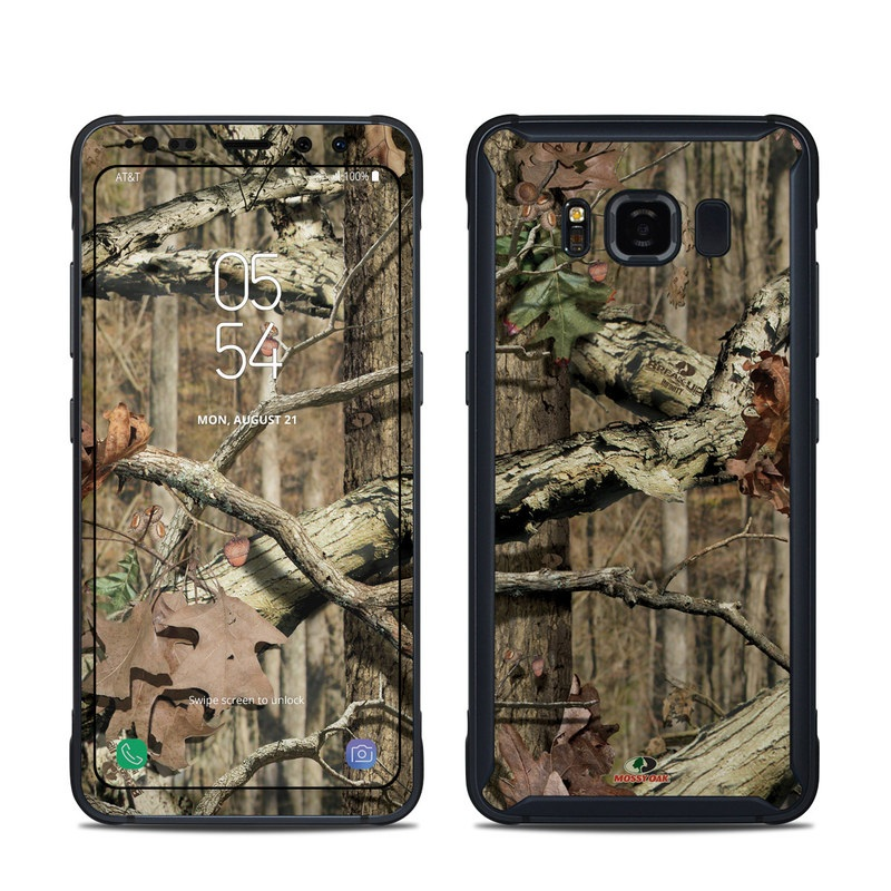 Samsung Galaxy S8 Active Skin design of Tree, Military camouflage, Camouflage, Plant, Woody plant, Trunk, Branch, Design, Adaptation, Pattern with black, red, green, gray colors