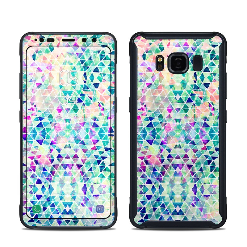 Pastel Triangle Samsung Galaxy S8 Active Skin