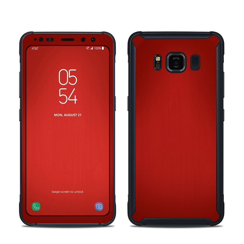 Red Burst Samsung Galaxy S8 Active Skin