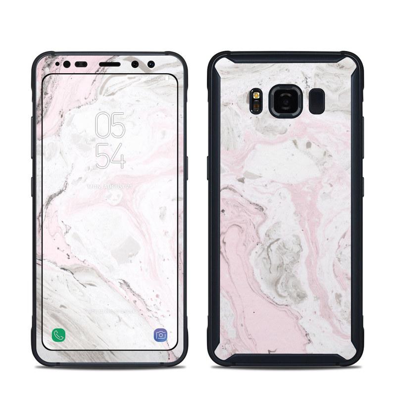 Rosa Marble Samsung Galaxy S8 Active Skin