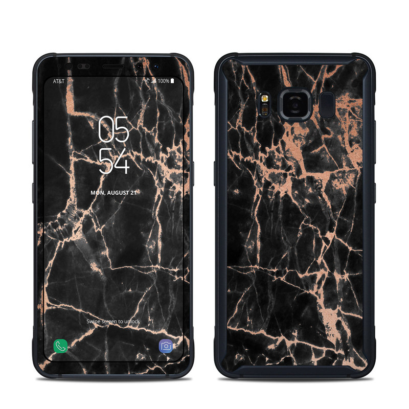 Rose Quartz Marble Samsung Galaxy S8 Active Skin