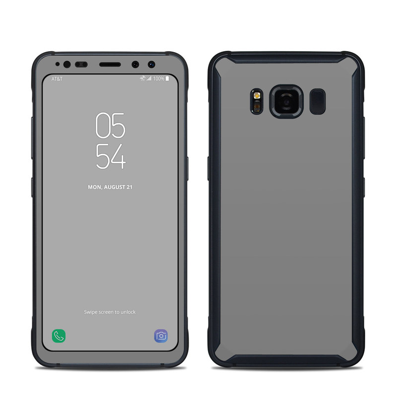 Solid State Grey Samsung Galaxy S8 Active Skin
