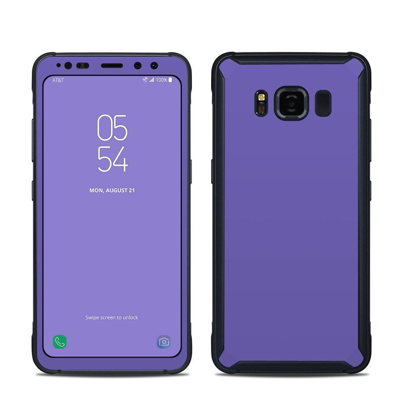 Solid State Purple Samsung Galaxy S8 Active Skin