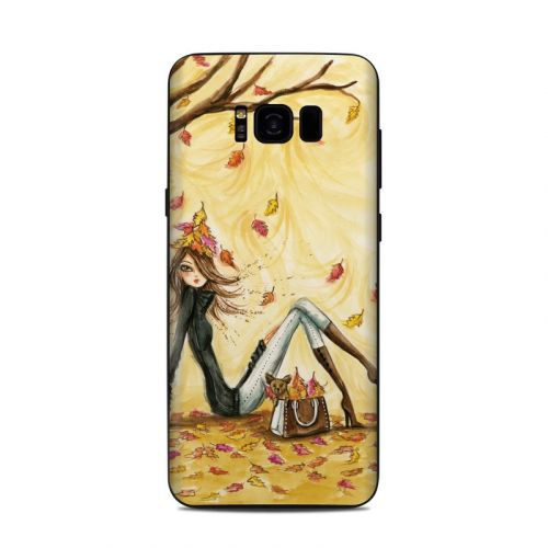 Autumn Leaves Samsung Galaxy S8 Plus Skin