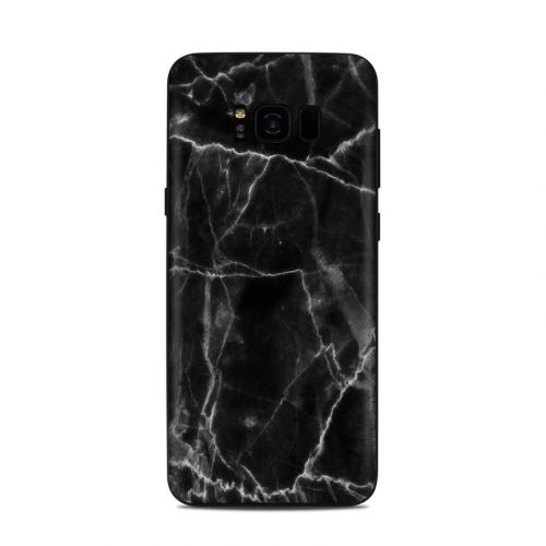 Black Marble Samsung Galaxy S8 Plus Skin