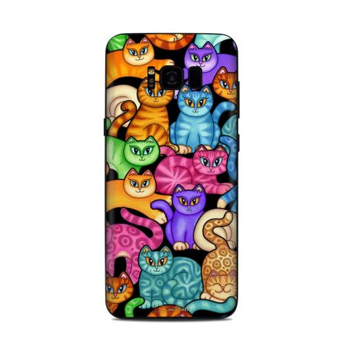 Colorful Kittens Samsung Galaxy S8 Plus Skin