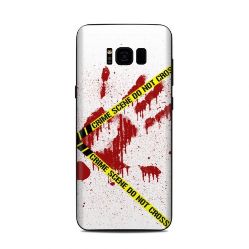 Crime Scene Revisited Samsung Galaxy S8 Plus Skin