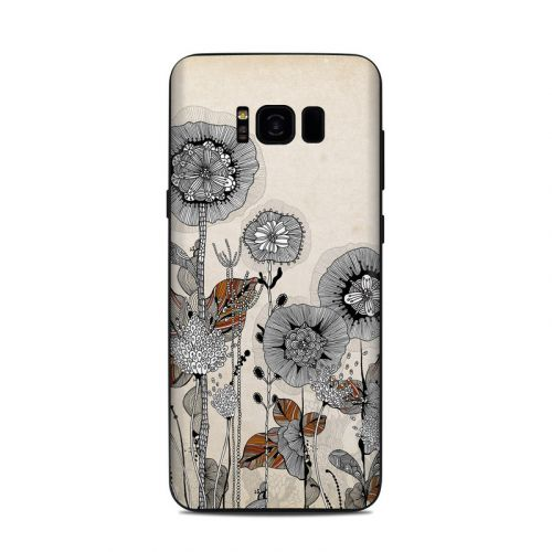 Four Flowers Samsung Galaxy S8 Plus Skin