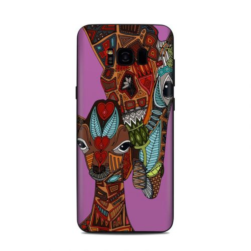 Giraffe Love Samsung Galaxy S8 Plus Skin
