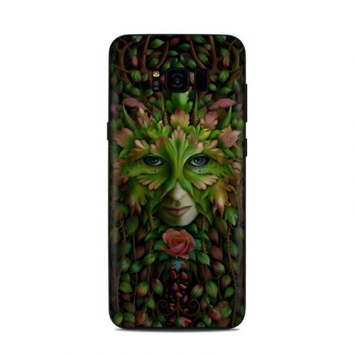 Green Woman Samsung Galaxy S8 Plus Skin