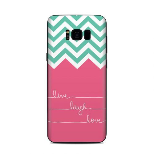 Live Laugh Love Samsung Galaxy S8 Plus Skin