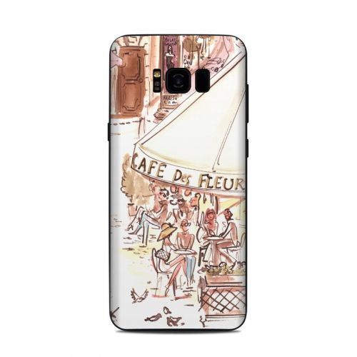 Paris Makes Me Happy Samsung Galaxy S8 Plus Skin