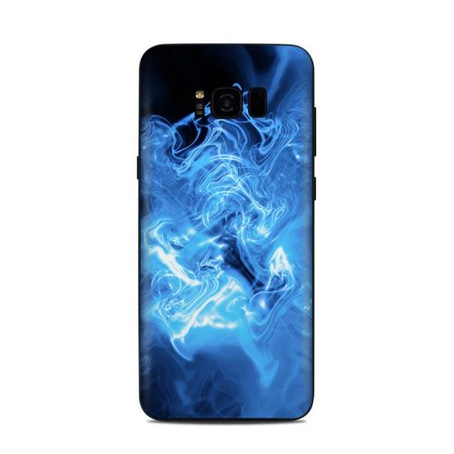 Blue Quantum Waves Samsung Galaxy S8 Plus Skin