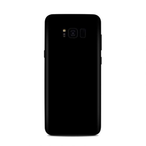 Solid State Black Samsung Galaxy S8 Plus Skin