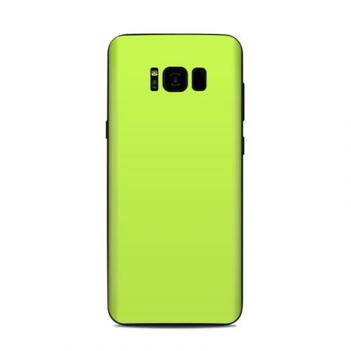 Solid State Lime Samsung Galaxy S8 Plus Skin