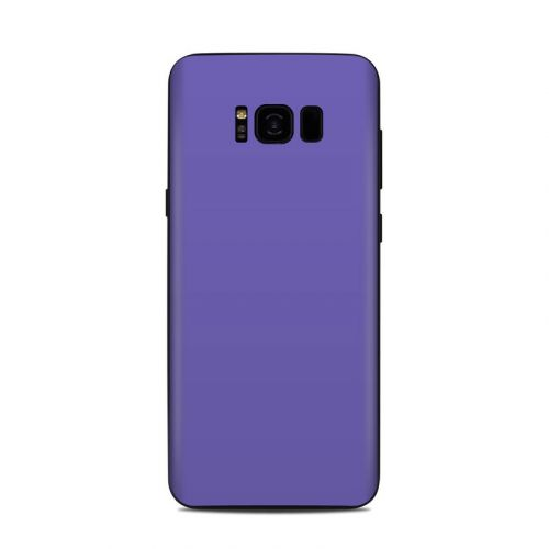 Solid State Purple Samsung Galaxy S8 Plus Skin