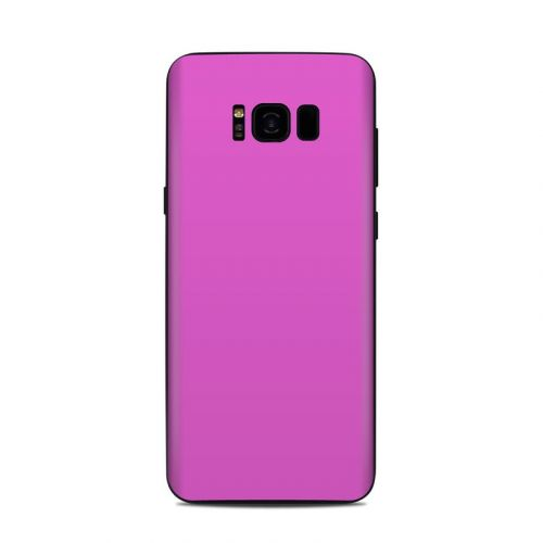 Solid State Vibrant Pink Samsung Galaxy S8 Plus Skin