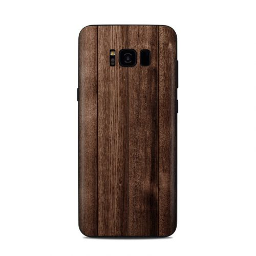 Stained Wood Samsung Galaxy S8 Plus Skin