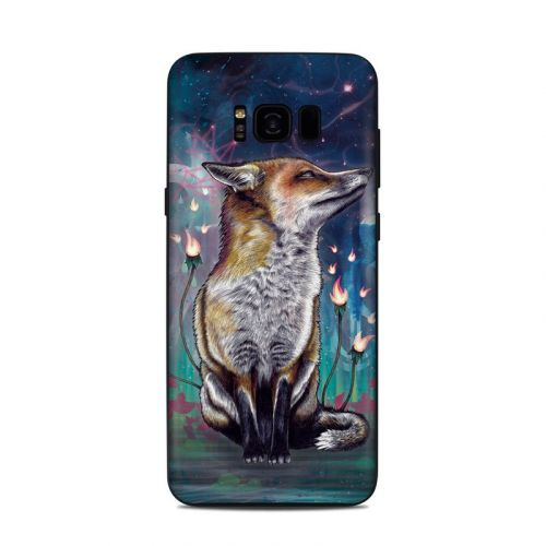 There is a Light Samsung Galaxy S8 Plus Skin
