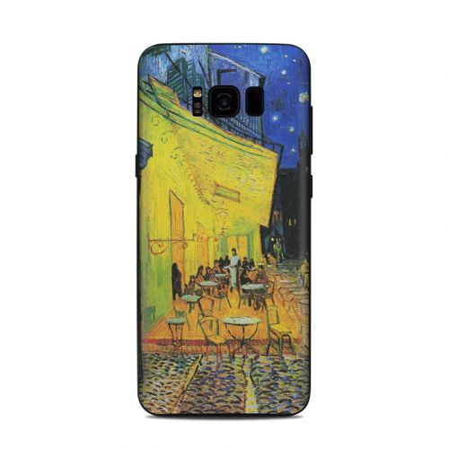 Cafe Terrace At Night Samsung Galaxy S8 Plus Skin