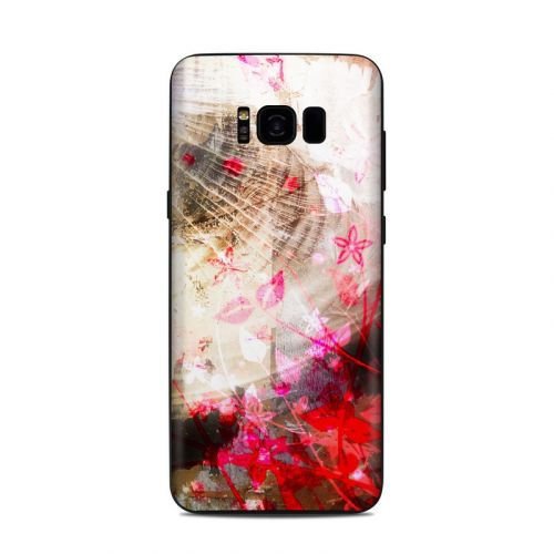 Woodflower Samsung Galaxy S8 Plus Skin