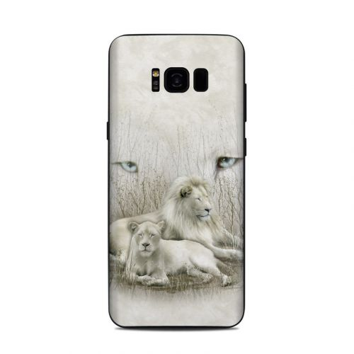 White Lion Samsung Galaxy S8 Plus Skin