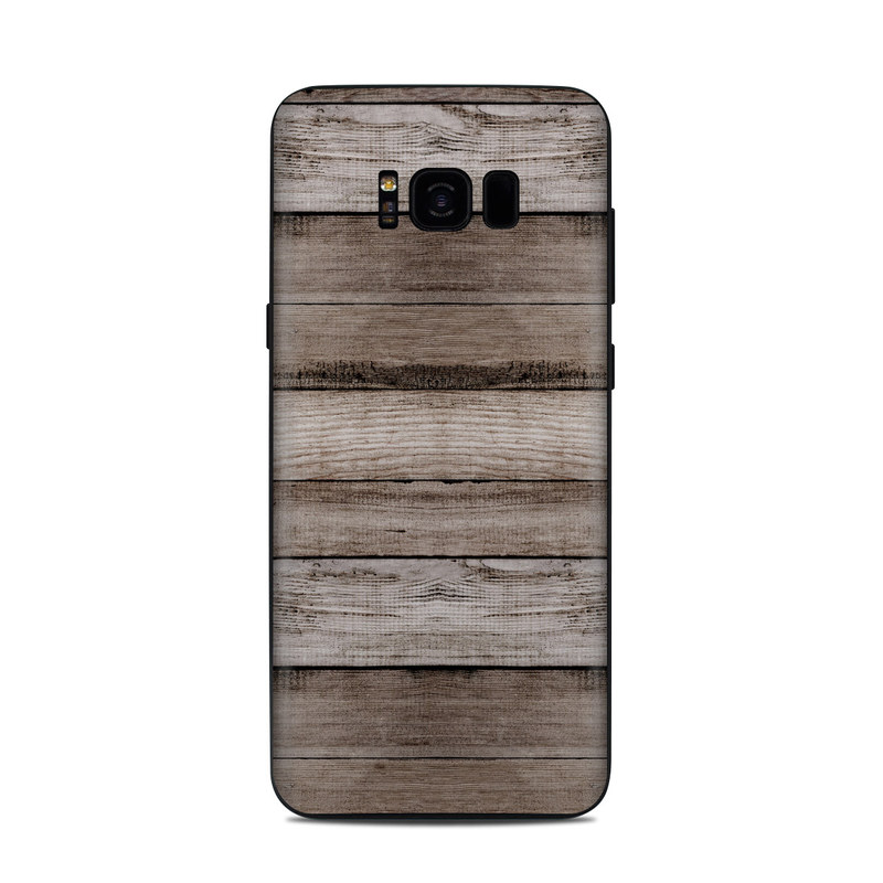 Barn Wood Samsung Galaxy S8 Plus Skin