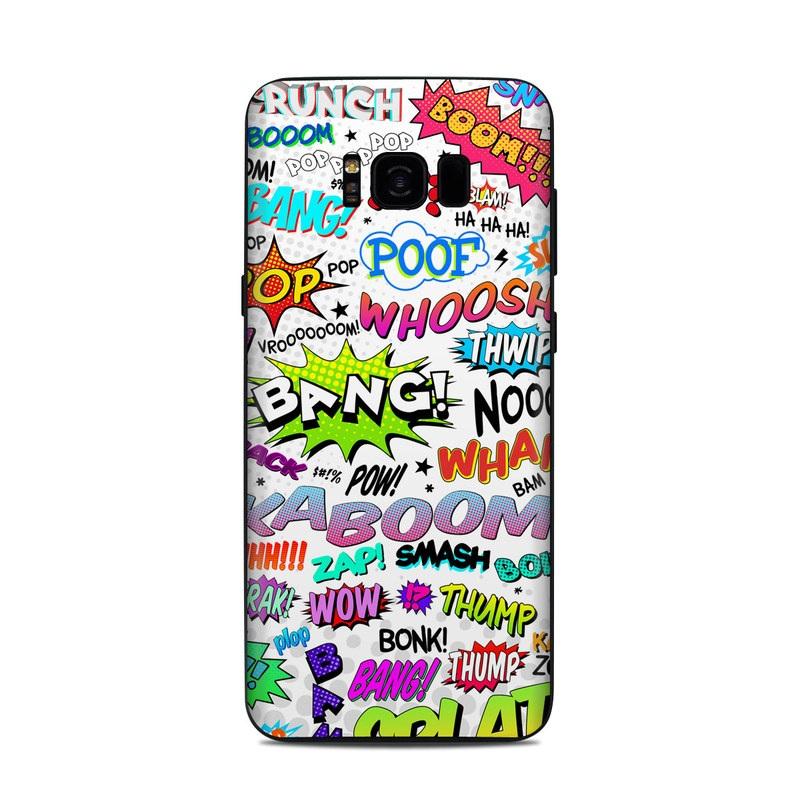 Comics Samsung Galaxy S8 Plus Skin