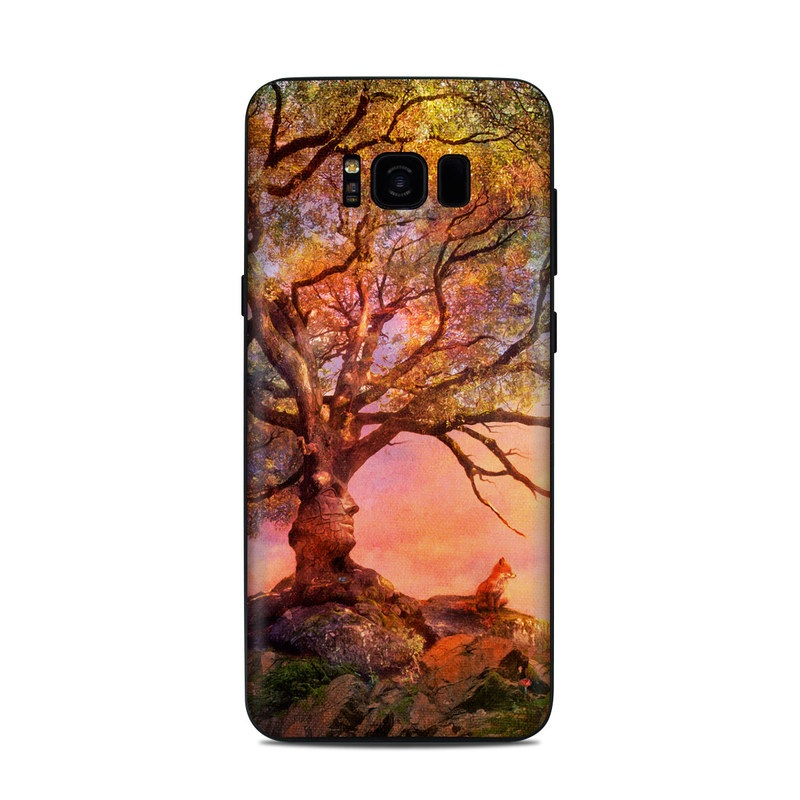 Fox Sunset Samsung Galaxy S8 Plus Skin