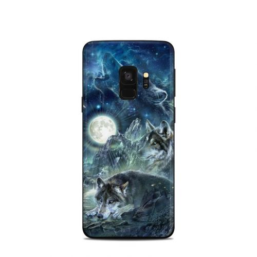 Bark At The Moon Samsung Galaxy S9 Skin