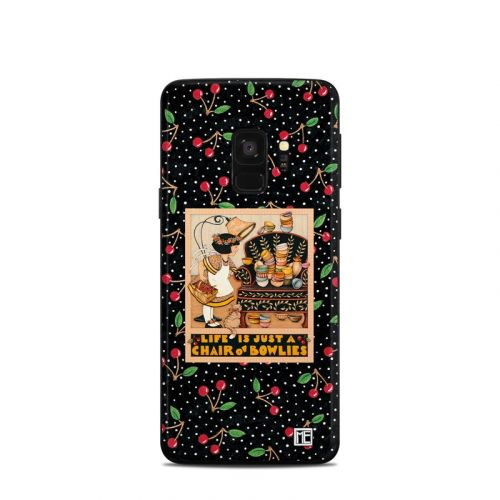 Chair of Bowlies Samsung Galaxy S9 Skin