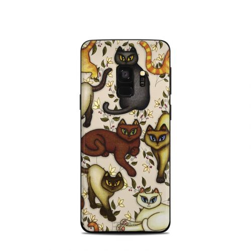 Cats Samsung Galaxy S9 Skin