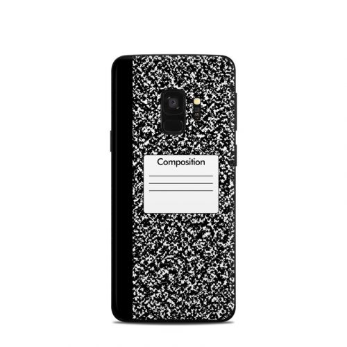 Composition Notebook Samsung Galaxy S9 Skin
